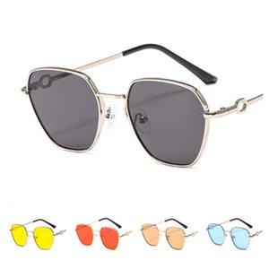 Fashion Women & Men Sunglasses Punk Sun Glasse Goggles Anti-UV Spectacles Alloy Frame Eyeglasses Adumbral Eyewear A++