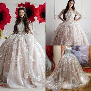 2020 Vintage-Saudi Arabisch Eine Linie Brautkleider Off Schultern Sheer Halb lange Ärmel SpitzeAppliques Ruched Brautkleider BC2306