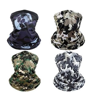 Outdoor Sport Bandana Camouflage Scarf Fishing Cycling Tactical Hiking Elastic Cover Neck Gaiter Bike Face Headband Scarf