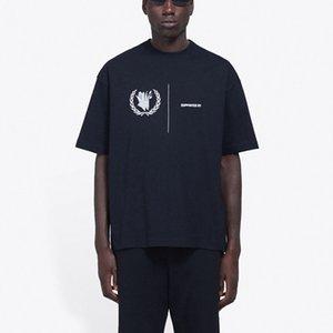 20SS WFFP Dünya Foood Proggramme Tee Moda Letter Baskılı Nefes tişört Casual Gevşek Katı tişört Erkekler Kadınlar Kısa Kollu HFYMTX623