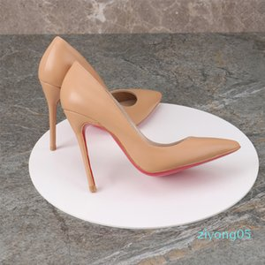 2019 red bottom pump genuine leather Pigalle Heels WOMEN wedding laboutin pointed toe fine heels sexy woman red sole high heels 35-44 z05