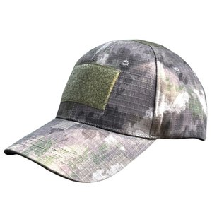 Outdoor Men Women Digital Camo Tactical Camouflage Flag Patch Hiking Cap Unisex Sun Hat Camping Cap Quality