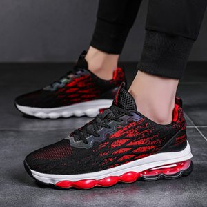 Men Running Shoes summer Breathable Sports Sneakers Air Cushion Lace Up Walking Jogging Athletic Footwear Zapatillas Hombre