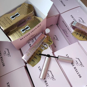 бесплатная доставка Тушь лучше, чем секс Тушь лучше, чем любовь Прохладный Черная тушь для ресниц Розовый трубки розовый пакет CrulingWaterproof Top Qualtity!