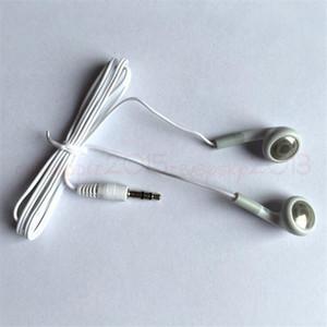 2000pcs mp3 mp 4 écouteurs sans micro 3,5 mm Blanc écouteurs à usage unique casque écouteurs pour le cadeau pour Concert pour prix le moins cher iphone