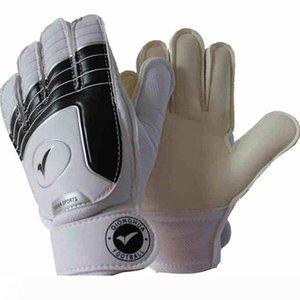 New Boy Soccer Goalkeeper Gloves For Kids Football Latex Goalie Gloves Children Professional Sports Protection finger