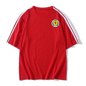 Scotland Football T shirt adult Short sleeve Soccer Jerseys summer fashion Leisure Brand Football shirt Men's T-Shirts