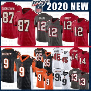 9 Joe Burrow 12 Tom Brady Rob Gronkowski Tampa