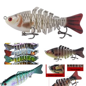 JROmc # 5555 Luya baitset leuchtende Garnele bionic Fälschung weichen leuchtenden Köder Angelköder Tintenfisch Blackfish