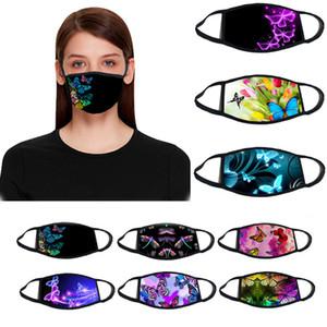 Designer maschera facciale 3D farfalla maschera anti-smog in puro cotone traspirante versione anti-polvere primavera e l'autunno del PM2.5 attivata sia maschere per il viso