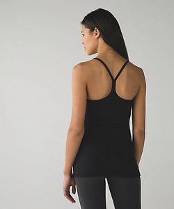 LU-40 libre de ser del tanque del chaleco de la yoga Es un lazo del poder Y Tops entrenamiento gimnasia sin respaldo señora Underwear Correr: Sports Shirts