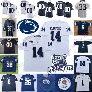 PSU Penn State Football Jersey NCAA Justin Shorter Jan Johnson John Reid Shaka Toney Yetur Gross-Trace Matos Allen McSorley Paterno