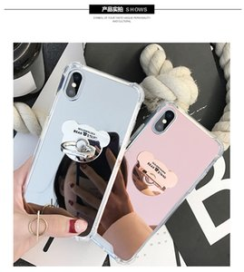 Case SE Cute Bear Ring Grip Holder Anti 7 Cover Plus Pro Max IPhone 11 Mirror Max XS For XR Luxury 8 Shock 6 6S X Fashion 2020 Glida