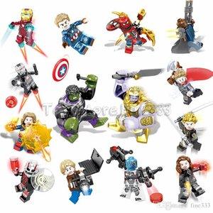 2019 Vengadores 4 mini figuras regalos End Game Espacio Micro Hulk Iron Man Machine Wars Modelo Blocks juguetes de los ladrillos SY1311