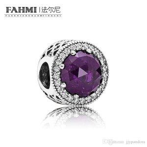 FAHMI 100% 925 Sterling Silver 1:1 Original 791725NRP Authentic Temperament Fashion Glamour Retro Safety Buckle Wedding Women Jewelry