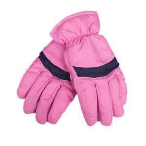 Uomini impermeabile antivento Donne \ 's Inverno Sciare caldi guanti all'aperto equitazione piena Finger Gloves 2018 Nuove