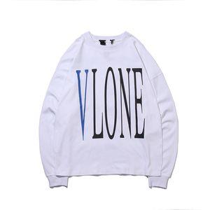 Vlone Hoodies Mode Hommes Femmes Hommes Haute Qualité Hip Hop Sweat-shirt pour hommes Styliste serpent d'impression à manches longues T-shirt S-XL