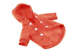 10PCS wholesale Pet Clothes Dog Fleece Vest Pet Cold Weather Vest Jacket Coat Dog Cotton Clothes Sweaters 6 Sizes 4 Colors