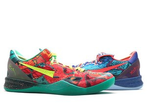 Yeni Mamba 8 WTK Basketbol kutu Boyutu 7-12 ile Mamba Kükürt Elektrikli Paskalya Ayakkabı Sneakers İyi Ayakkabı İndirim yılbaşı Ayakkabı Ayakkabı