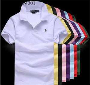 Adam Kadınlar High Street Üst Tee Moda ve Mesleki Tasarımcı Yaz Tişört Nakış Erkek Polo T Shirt V6 için 2020 Trend Gömlek