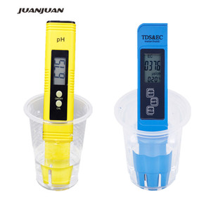 2pcs Digital 0.0-14.0 Ph Meter Tester 0-9990pm Digital Tds Ec Lcd Water Pm Aquarium Purity Filter 28%off T8190619