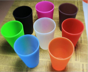 1 paquete de silicona Pint Glass Squishy Cerveza Gafas Unbreakable Silicone Pint Glass