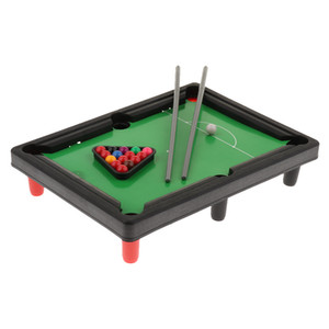 Portable Mini Billiard Ball Tabletop Pool Desktop Board Game Set Children Educational Toy Birthday Gift