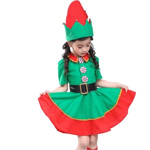 Christmas Costumes for Children Family Matching Clothes Boys Girls Cartoon Outfits Santa Claus Party Baby Cosplay Mother Daughter Dresses