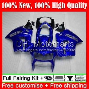 Carrocería azul para interceptor HONDA VFR800R VFR800RR 98 99 00 01 68MT13 VFR800 VFR 800RR 800 RR 98 1998 1999 2000 2001 Carenado