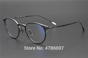 2019 Pure marco Titanium Ronda óptico de las lentes marcos vidrios unisex retro anteojos recetados marcos miopía Hombres Mujeres