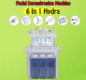 H2-O2 BIO RF cold hammer ultrasonic skin scrubber hydrafacial machine microdermabrasion hydra spa facial skin pore cleaning beauty machine