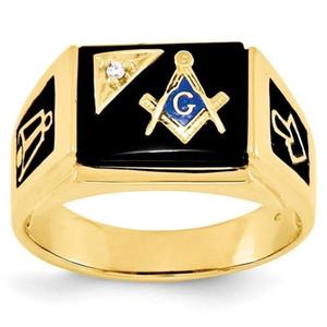 Liga de prata de ouro dos homens maçom regalia maçônica anéis esmalte preto anel maçonaria jóias itens baratos por atacado
