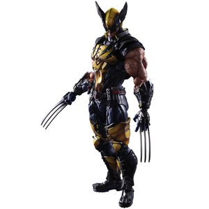 PLAYARTS Kai Wolverine Action Figure Color Box Figure Model Toy Boyfriend Gift PA Modification X-Men Series Wolverine Movable GK