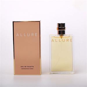 Profumo Spray CN ALLURE e MEN ALLURE HOMME SPORT profumo per la donna e profumi degli uomini di fragranza 100ml shiipping libera