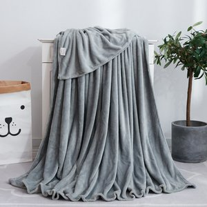 New hot style Coral Wool blanket summer air conditioning blanket office blanket nap towel available all seasons