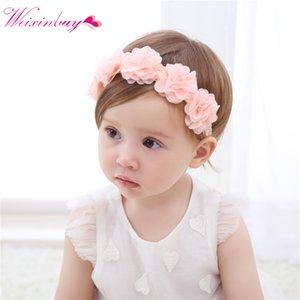 Baby Headband Flower Girls Pink Ribbon Hair Bands for Baby Girls Kids Headbands Turban Newborn Haarband Hair Accessories 30
