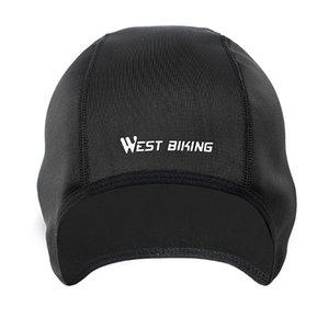 WEST BIKING Cap Cycling Outdoor Sports Windproof Warm Unisex Fleece Hat Ice Cool Summer Hat Fleece