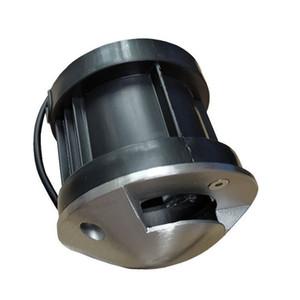 10PCS LED enterrado al aire libre ahuecado Cubierta Luz 1/2/3/4 vista lateral metro de la acera iluminación IP68 AC85-265V DC12V