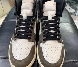 أفضل جودة حجية 1 السامي ريترو ترافيس سكوت OG TS SP 3M صبار جاك الظلام موكا 1S رجل إمرأة حذاء حذاء رياضة كرة السلة