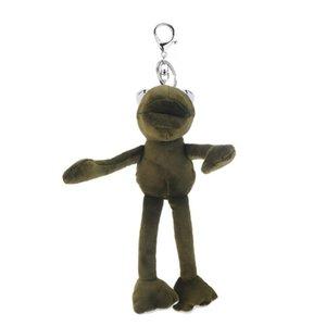10pcs / серия Свободная перевозка груза цепи милый моды Длинные Ноги лягушки куклы сумка Подвеска Key Ring Key сумки аксессуары Подарки