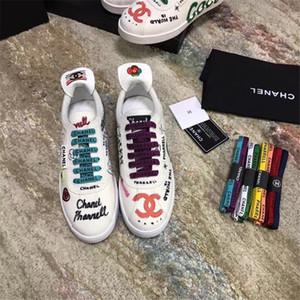 chanel Match- Up Sneaker Mens donna scarpe di lusso Low Top Nuovo arrivo Lace-up Donna Moda Scarpe Uomo
