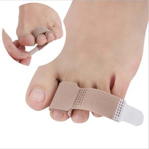 Feet finger corrector Insoles Fabric Gel Silicone Tube Bunion Toes Fingers Separator Divider Protector Corns Calluses