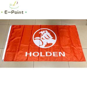 Avustralya Holden Araba Bayrak 3 * 5ft (90 cm * 150 cm) Polyester bayrak Banner dekorasyon uçan ev bahçe bayrağı Şenlikli hediyeler
