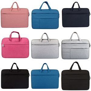 Laptop Sleeve Bag For Macbook Air Retina 13 12 15 For New Pro 13.3 Inch Touch Bar Pu Leather Case Laptop And Tablet er #758