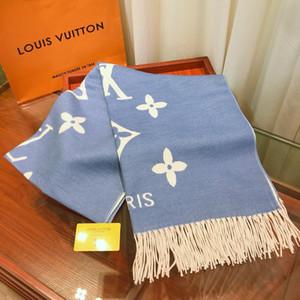 venta al por mayor 2019 Venta caliente de lana nuevo estilo europeo de invierno para mujer de alta calidad cachemira bufandas bufanda de la mujer Chales 180 * 65cm envío libre