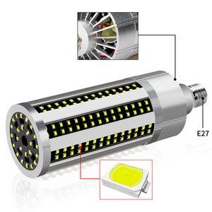 60W Super Bright Corn LED Light Bulb E26 6500K Daylight 5400 Lumens for Aluminum Large Area Commercial Ceiling Lighting