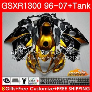 Kit para Suzuki Hayabusa GSX-R1300 1996 Golden Black 1997 1998 2007 24HC.24 GSXR 1300 GSXR1300 96 97 98 99 00 01 02 03 04 05 06 07 Failings