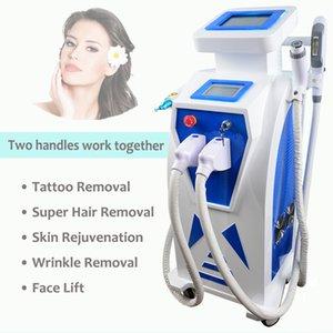 2019 OPTAM a remoção da tatuagem dos cabelos do laser do Nd Yag do tratamento da acne da remoção do enrugamento do IPL Elight da máquina do laser da remoção do cabelo de REM SHR