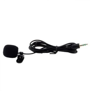 200pcs Portable Mini 3.5mm Tie Lapel Lavalier Clip Microphone microfone for Lectures Teaching Free Shipping