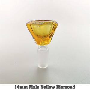 Cam bonglar DAB su boruları cam / silikon Bong 10 Stil 14 mm ve 18 mm Erkek çanaklar serbest nakliye kuleleri